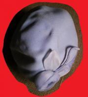 Damenhut Filzhut flieder Gr 54cm