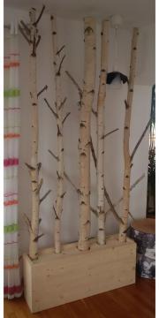 deko birken ste birkenst mme birkenstamm kratzbaum garderobe in jesenwang holz kaufen und. Black Bedroom Furniture Sets. Home Design Ideas