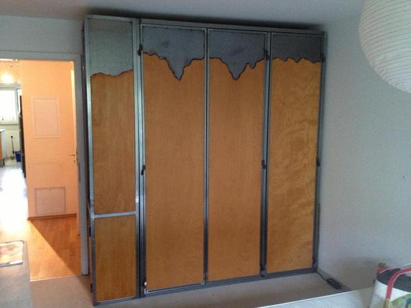schlafzimmerschrank design. Black Bedroom Furniture Sets. Home Design Ideas
