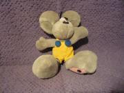 Diddel Maus Plüschtier Kuscheltier grau