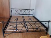 Doppelbett aus Metal