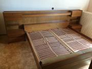 Doppelbett Eiche neuwertig