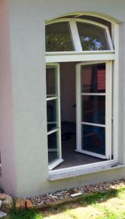 Doppelglasfenster aus Holz,