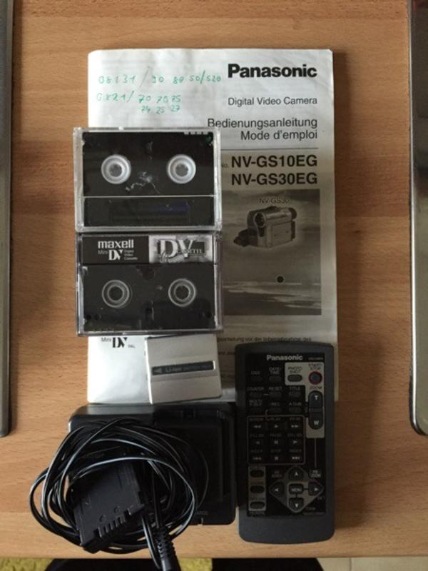 DVC Mini Videocassetten 6 Stück
