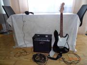 E-Gitarre mit