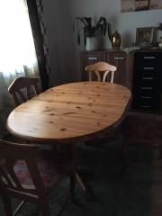 Echtholztisch mit 4