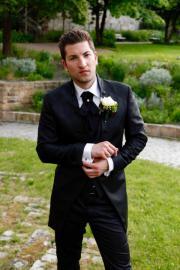 Edler Hochzeitsanzug in