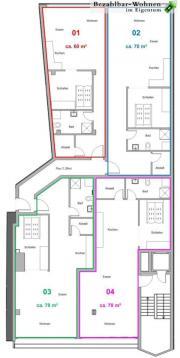 Eigentumswohnungen zwischen 50