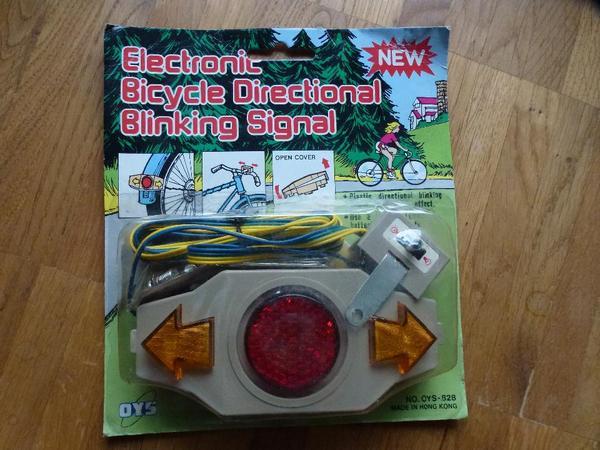 Electronic Bicycle Directional Blinking Signal - Holzkirchen Neuerlkam - super Beleuchtung bei Nacht, mit Blinkfunktion - Holzkirchen Neuerlkam