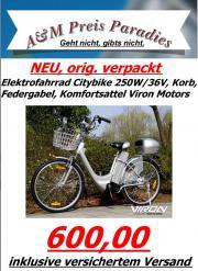 Elektrofahrrad Citybike 250W/
