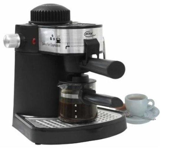 Espressomaschine mit Milchaufschäumer Elta EM 103 in Haar - Kaffee ... | {Espressomaschinen 14}