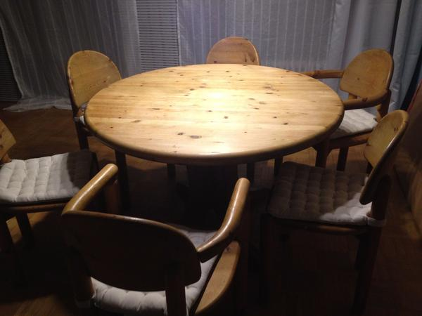 essgruppe 6 stuhlen gebraucht kaufen nur 4 st bis 60. Black Bedroom Furniture Sets. Home Design Ideas