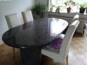 Granit esstisch haushalt m bel gebraucht und neu for Esstisch granit gebraucht