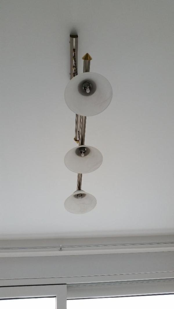 esstisch pendelleuchte mit seilzug h henverstellbar in kronberg lampen kaufen und verkaufen. Black Bedroom Furniture Sets. Home Design Ideas