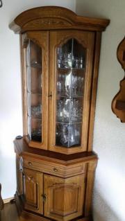 eckvitrine eiche rustikal haushalt m bel gebraucht und neu kaufen. Black Bedroom Furniture Sets. Home Design Ideas