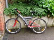 Fahrrad Mountainbike rot/