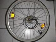 Fahrradlaufrad 26 Hinterrad 3 Gang