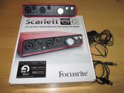 Focusrite scarlett 6i6,