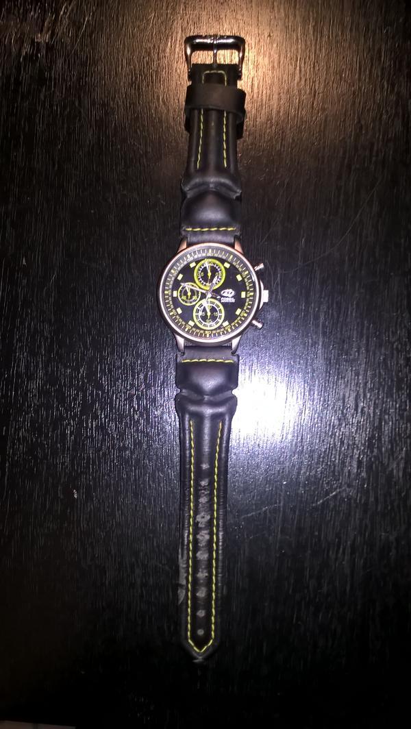 Fossil-Uhr - München Hadern - FOSSIL-Männer-Uhr mit Lederarmband (Uhr benötigt eine neue Batterie) - München Hadern