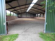 Freie Pferdeboxen und Padockboxen