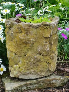 Sonstiges für den Garten, Balkon, Terrasse - Für den Landhausgarten Großer Blumentopf
