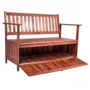 rustikale gartenbank massiv l rche 180 cm parkbank baumbank bank in bad essen gartenm bel. Black Bedroom Furniture Sets. Home Design Ideas