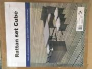 Gartenlounge-Set Cube