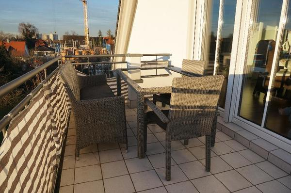 gartenm bel balkonm bel terrassenm bel rattan polyrattan garnitur edel in m nchen kaufen und. Black Bedroom Furniture Sets. Home Design Ideas