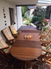 Gartenmöbel-Massivholz
