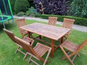 Gartenmöbel Set Holztisch