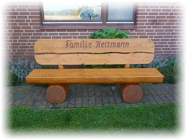 Geschenkidee Sitzbank Mit Gravur Holz
