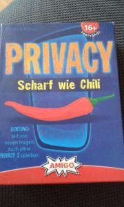 Gesellschaftspiel Privacy