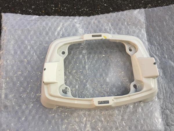 Gilera GP800 Verkleidung Lenker weiß