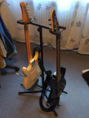 Gitarrenständer zweifach für
