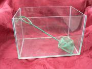 Glas-Aquarium mit