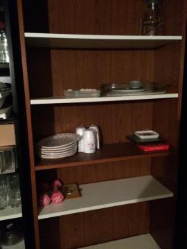 IKEA-Möbel - GLASKOMMODE BEISTELLTISCH 60 - BILLY REGALE BRAUN