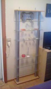 Glasregalständer zu verkaufen