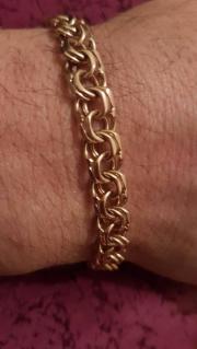 Gold Handkette