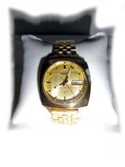 Goldene Armbanduhr von Seiko Automatic