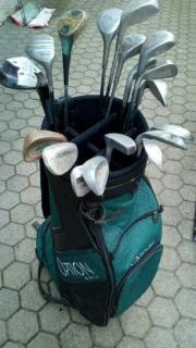 Golftasche , Golfschläger, Golfbag,