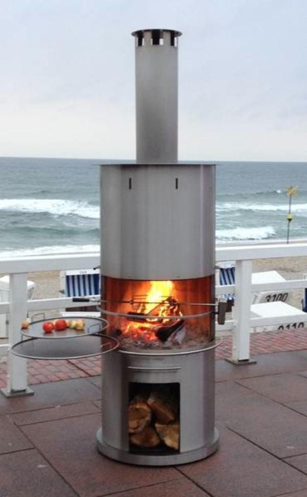 grill kamin jetzt auf der messe dornbirn in schwarzach sonstiges f r den garten balkon. Black Bedroom Furniture Sets. Home Design Ideas
