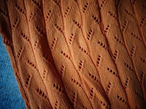 Handarbeit luftiger Sommer-Pulli Shirt Top
