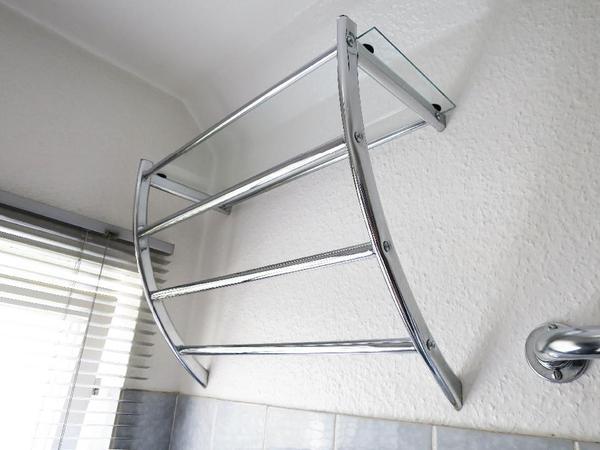 Handtuchhalter f r badezimmer me13 hitoiro for Badezimmer wandregal edelstahl