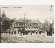 Hauptwache Frankfurt Main um 1900