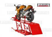 Hebebühne Motorrad Hydraulisch Rot -Motorradhebebühne