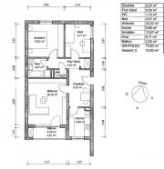 Helle 3-Zimmer