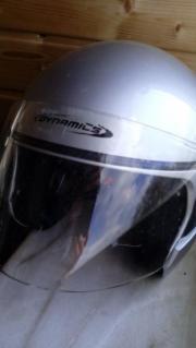 Helm Gr M blau schwarz