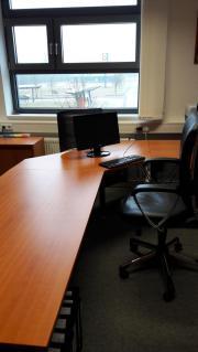 hochwertige, komplette Chefzimmermöblierung (