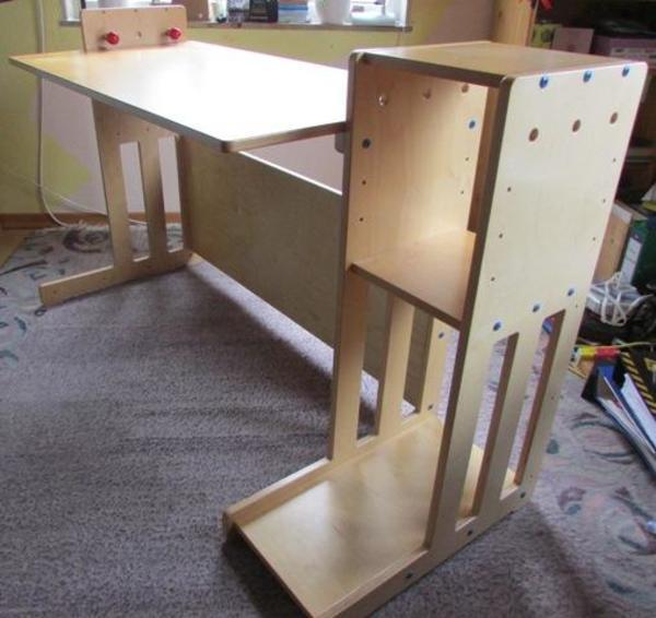 Holz   Schreibtisch Für Kinder