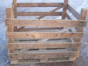 Holzgrosskisten zur Lagerung